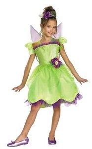 Girls Deluxe Tinker Bell Rainbow Fairy Halloween Costume for Toddlers  sc 1 st  Pinterest : tinkerbell costumes for teens  - Germanpascual.Com