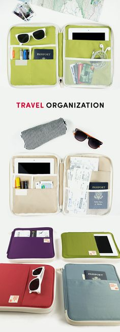 How do you stay organized during your travels? It's hard to keep track of your passports, tickets, passes, and maps when we're out exploring a new city. That's where this Better Together iPad Pouch comes in handy! With its endless open, zippered, and mesh pockets it's perfect for carrying all your travel necessities when you're on the go! It can even fit your iPad and other devices. With the secure closure and water resistant cover, it's the perfect accessory! Check out the photos to learn…