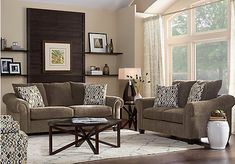 Ventura Brown 5 Pc Living Room. $988.00.  Find affordable Living Room Sets for your home that will complement the rest of your furniture.