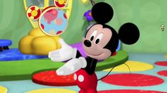 """Mickey Mouse Clubhouse: Minnie's Bee Story - He's here for meedles and youdles, And all we have to say is """"oh toodles!"""" All we have to say is """"oh toodles! Mickey Mouse Clubhouse, Minnie Mouse, Walt Disney Records, G Major, Disney Music, Disney Junior, Theme Song, Songs, Make It Yourself"""