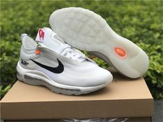 OFF WHITE X Nike Air Max 90 10x Ice Blue For Sale | Hoop Jordans