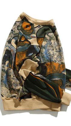 Sweaters For Women, Men Sweater, Sweater Refashion, Urban Outfits, Us Army, Hoodies, Sweatshirts, Urban Fashion, Crew Neck Sweatshirt
