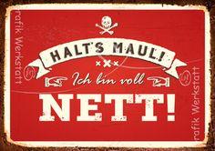 Nett - Postkarten - Grafik Werkstatt Bielefeld