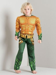 Marvel Aquaman naamiaisasu Aquaman, Costume Dress, Fancy Dress, Marvel, Costumes, Boys, Dresses, Style, Fashion