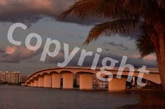 A personal favorite from my Etsy shop https://www.etsy.com/listing/450315160/ringling-bridge-sarasota-florida