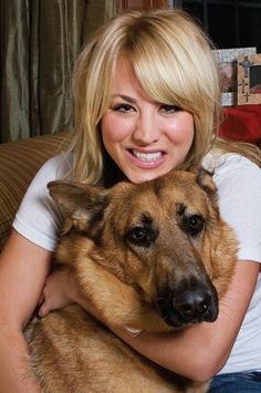 Kaley Cuoco Dog Zeus