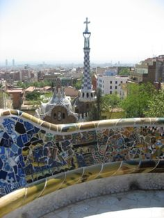 Parque Guell - one of my favorite places on my trip to Barcelona