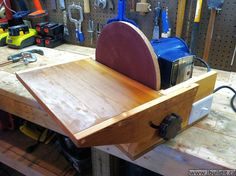 DIY disc Sanders | Thanks for the description and pictures of the disc sander, I just ...