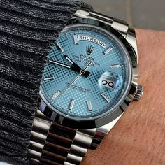 DAY DATE 40 platinum Ref 228206 Have a great evening all.... | http://ift.tt/2cBdL3X shares Rolex Watches collection #Get #men #rolex #watches #fashion