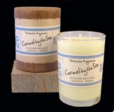 Carmel By The Sea soy wax candle fragranced with pure essential oils of lavender and vetiver. Available @orangeharp!   #candles #gifts
