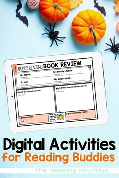Is your Daily 5 Buddy Reading Center as effective as you'd like for it to be? These Halloween themed digital and printable reading buddies bookmarks are guaranteed to lead to more student engagement. Elementary students can practice retelling the story elements with these bookmarks and graphic organizers. Reading response sheets are also available for additional accountability during literacy centers. A must-have for your reading workshop!