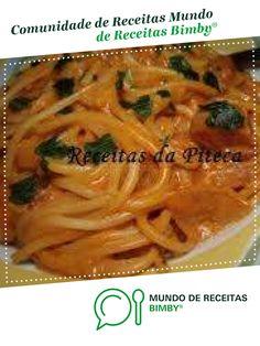 Esparguete com salsichas de cfaria1. Receita Bimby<sup>®</sup> na categoria Prato principal outros do www.mundodereceitasbimby.com.pt, A Comunidade de Receitas Bimby<sup>®</sup>.