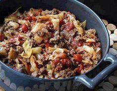 Unstuffed Cabbage Rolls – 3 Smart Points