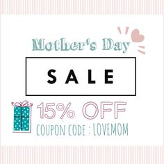 Happy Mothers Day  ! 🌹  Enjoy 15% OFF everything  !   Coupon code : LOVEMOM  www.BowTieLove.com    Offer ends 05.17.2017
