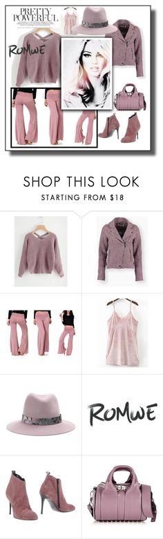 """""""pretty. powerful."""" by caroline-buster-brown ❤ liked on Polyvore featuring rag & bone, Pierre Darré and Alexander Wang"""