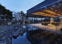 Glass Pavilions Celebrate Korea's Traditional Tea Culture - My Modern Metropolis