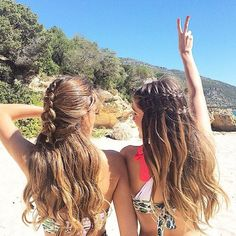 beachy braids