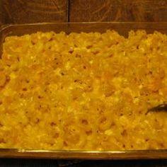 Easy No-Boil Macaroni and Cheese @ allrecipes.com