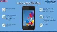 INTEX AQUA 3G MINI A40 Specifications - Infographics– Infographics @ Shopinpedia