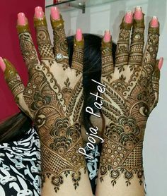 Pakistani Henna Designs, Latest Arabic Mehndi Designs, Latest Bridal Mehndi Designs, Unique Mehndi Designs, Wedding Mehndi Designs, Mehndi Designs For Fingers, Latest Mehndi Designs, Fingers Design, Maa Tattoo Designs