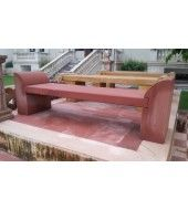 Outdoor Seating, Outdoor Decor, Outdoor Stone, Stone Bench, Outdoor Furniture, Red, Home Decor, Decoration Home, Room Decor