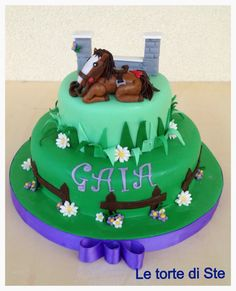 Horse cake# le torte di ste# Horse Cake, Let Them Eat Cake, Birthday Cake, Treats, Cakes, Desserts, Food, Sweet Like Candy, Tailgate Desserts