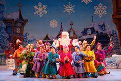 Elf The Musical – It snowed in Dallas last night! | Milk & Cuddles