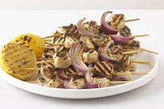 Grilled Greek Chicken Kabobs recipe