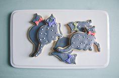 Tidewater and Tulle | A Hampton Roads Virginia Wedding Inspiration Blog: Modern Cat Bridal Shower Inspiration