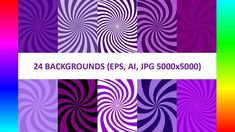 Vector Backgrounds: 24 Purple Spiral Backgrounds Free Design Resources, Web Design, Purple Backgrounds, Vector Background, Graphic, Spiral, Abstract, Gallery, Artwork