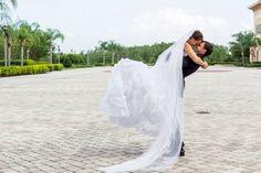Rosen shingle creek wedding bride and groom