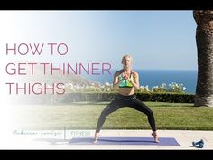 NEW! Get Thinner Thighs | Rebecca Louise - YouTube