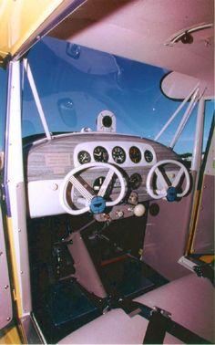 Aeronca 11AC Chief Cockpit