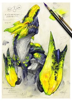 Brachydios from Monster Hunter