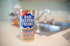 Bar Keepers Friend will bring back sparkle and shine to all your metals