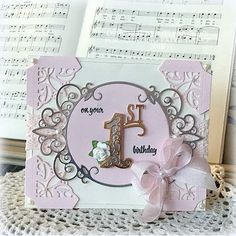 Melissa Bove for www.amazingpapergrace.com using Tiara Rondelle and Filigree Numbers