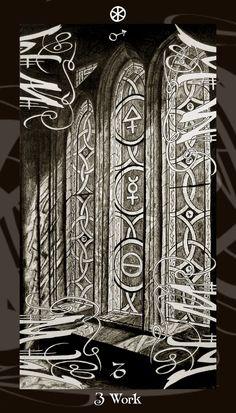 Hiểu Lá Three of Disks - Harry Potter Tarot bài tarot Xem thêm tại http://tarot.vn/la-three-of-disks-harry-potter-tarot/