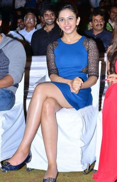 South Hot Rakul Preet Singh Latest Sexy Creamy Thighs Show In Public