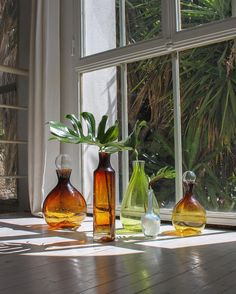 Unique glass pieces collection hand blown in the south of France by les Verriers de Saint-André for #bonsergentstudio