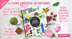 Livre Aroma-Zone : 100 recettes inédites pour vos cheveux au naturel
