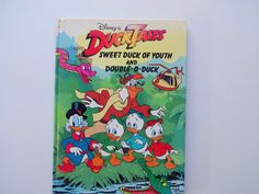 Vintage Duck Tales Hardback Children's Book by WylieOwlVintage