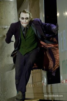 The Dark Knight // Heath Ledger As The Joker