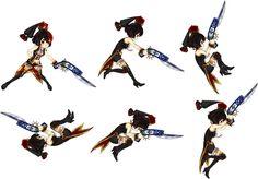 【作品】アルカディアスの戦姫、【武器】銃剣、【キャラ】マリアンヌ