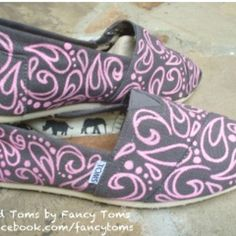 Handpainted toms!