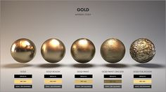 ArtStation - Material Studies: Metals, Jarrod Hasenjager Plus Digital Painting Tutorials, Digital Art Tutorial, Digital Paintings, 3d Texture, Metal Texture, Blender 3d, Zbrush, 3d Max Tutorial, Vray Tutorials