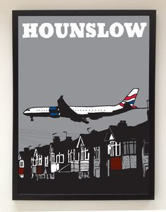 This is an accurate description of where I live. (London Series Hounslow by ArtStalker)