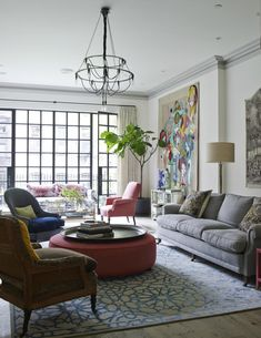 Townhouse In Traditional Avant-Garde Decor