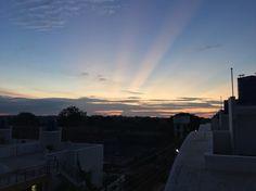 Sunset @ Jaypee is simply amazing