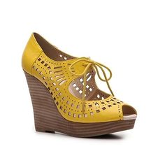 Restricted mindy #wedge #shoes #heels #pumps  $54