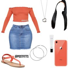 Not the necklace - - Boujee Outfits, Swag Outfits For Girls, Teenage Girl Outfits, Cute Swag Outfits, Teenager Outfits, Dope Outfits, College Outfits, Teen Fashion Outfits, Girly Outfits
